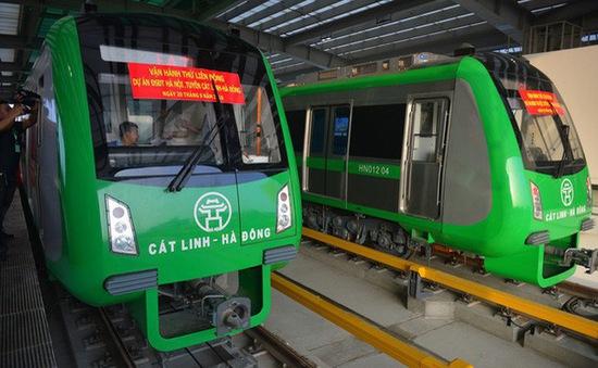 Đường sắt Cát Linh - Hà Đông chạy thương mại cuối năm 2020