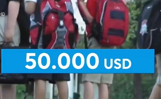 """Nhà giàu Mỹ đặt cọc đến 50 nghìn USD """"giữ chỗ"""" cho con vào trường điểm"""