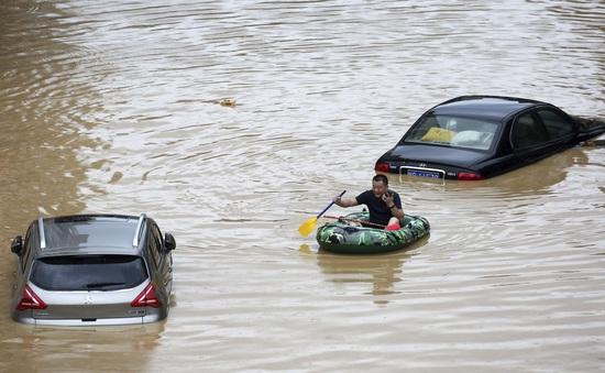Hơn18 triệu người ở Trung Quốc tiếp tục hứng chịu lũ lụt nghiêm trọng