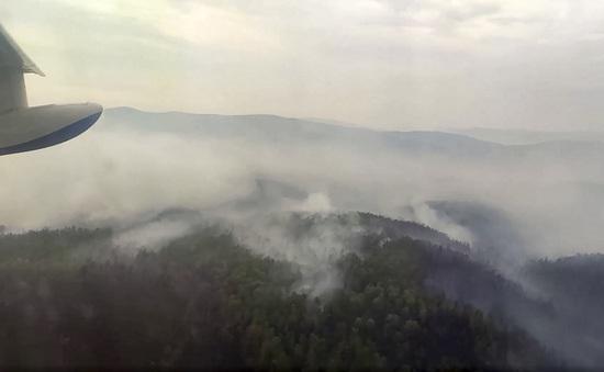 Nga: Cháy rừng hoành hành tại Siberia, khói mù bao trùm nhiều khu vực