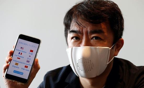 Kinh ngạc, Nhật Bản thành công ra mắt khẩu trang thông minh phiên dịch 8 thứ tiếng