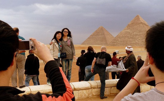Xứ sở Kim tự tháp đón khách quốc tế trở lại