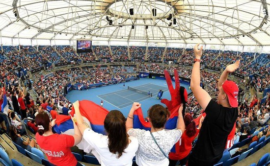 Thêm 1 giải quần vợt dự định mở cửa cho người hâm mộ
