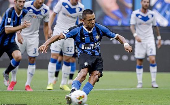 Inter Milan 6-0 Brescia: Sanchez chấm dứt chuỗi 16 trận tịt ngòi
