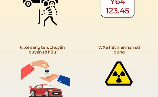 11 trường hợp tài xế bị tịch thu giấy chứng nhận đăng ký và biển số