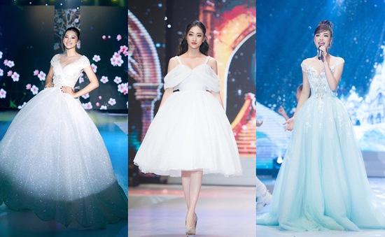 """Dàn Hoa hậu, Á hậu sinh năm 2000 """"đọ dáng"""" trong đầm công chúa"""