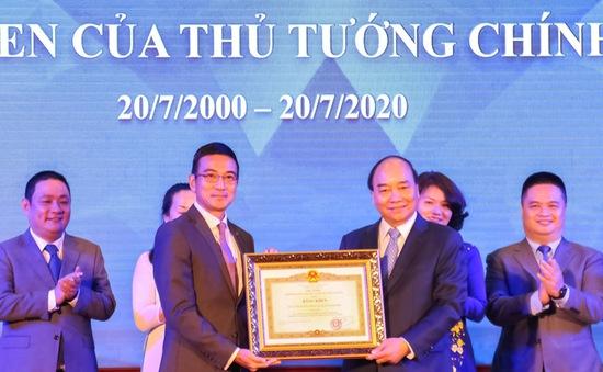 Thủ tướng đánh cồng kỷ niệm 20 năm hoạt động Sở Giao dịch Chứng khoán TP.HCM