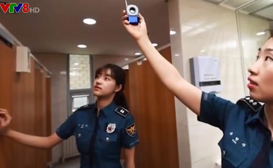 Hàn Quốc truy tìm camera lắp đặt bất hợp pháp trong trường học