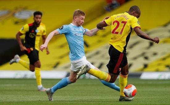 Watford 0-4 Manchester City: Chủ nhà lâm nguy!
