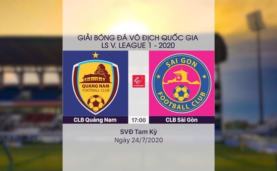 VIDEO Highlights: CLB Quảng Nam 3-3 CLB Sài Gòn (Vòng 11 LS V.League 1-2020)