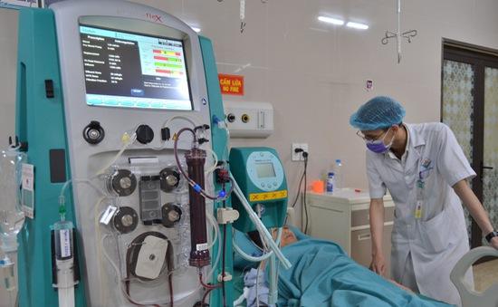 Lọc máu liên tục cấp cứu cứu sống bệnh nhân sốc nhiễm khuẩn nguy kịch