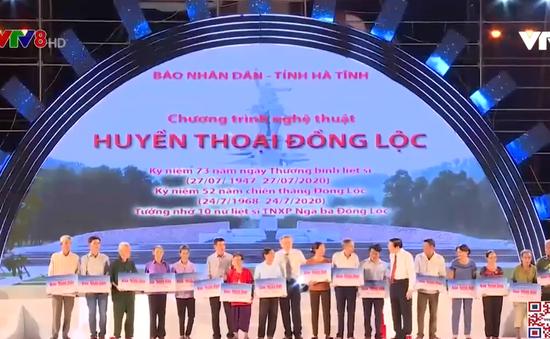 Phó Thủ tướng Trương Hòa Bình tham dự chương trình nghệ thuật Huyền thoại Đồng Lộc