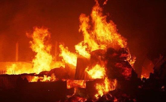 Cháy nhà tại Hà Tĩnh khiến 2 trẻ tử vong