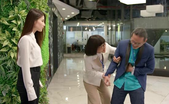 """Tình yêu và tham vọng - Tập 39: Đại Cán, Hường gài bẫy lừa Linh đi """"phục vụ"""" Giám đốc Bách"""