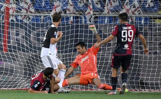 Cagliari 2-0 Juventus: Bà Đầm Già thất bại bất ngờ trước Cagliari