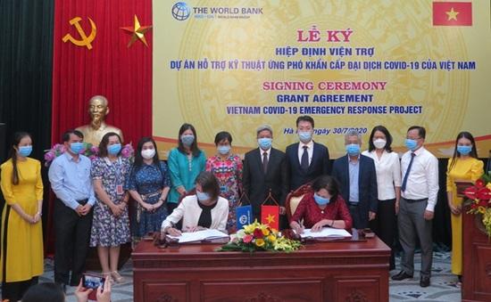 Ngân hàng thế giới tài trợ Việt Nam 6,2 triệu USD ứng phó COVID-19