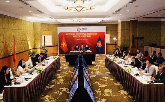 Hội nghị Bộ trưởng Kinh tế ASEAN - Nhật Bản thông qua kế hoạch hành động phục hồi kinh tế