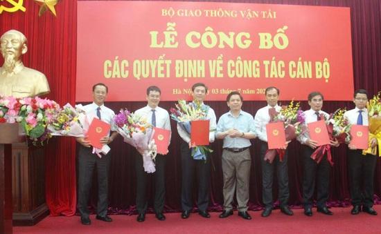 Bộ GTVT bổ nhiệm nhiều lãnh đạo chủ chốt các đơn vị