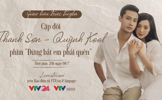 GLTT với cặp đôi thầy trò hot nhất màn ảnh Việt: Diễn viên Thanh Sơn - Quỳnh Kool