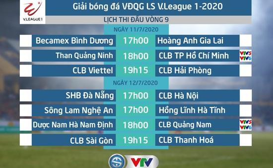 Lịch thi đấu và trực tiếp vòng 9 LS V.League 1-2020: Than Quảng Ninh – CLB TP Hồ Chí Minh, DNH Nam Định – CLB Quảng Nam