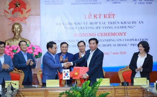 Xây Trường học Hy vọng cho học sinh nghèo tại Lạng Sơn
