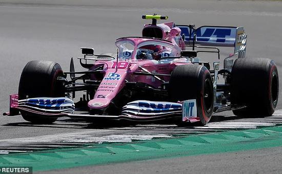 Lance Stroll đạt thành tích tốt nhất buổi chạy thử GP Anh