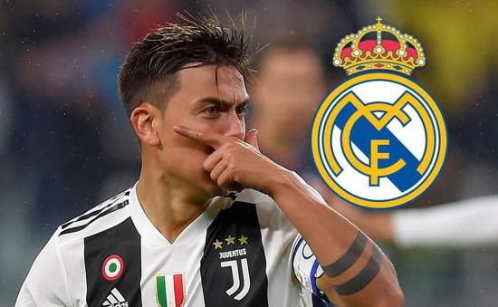 Real Madrid hỏi mua Dybala với giá 100 triệu euro