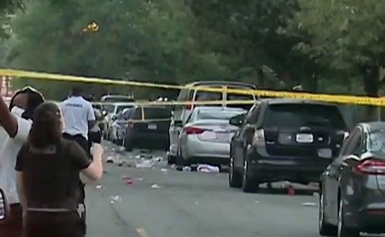 Nổ súng vào đám đông tại thủ đô Washington của Mỹ, hàng chục người thương vong