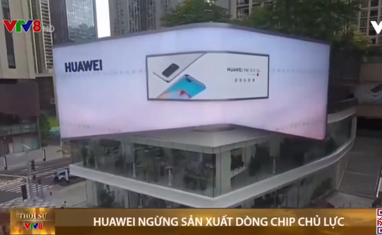 Huawei ngừng sản xuất dòng chip chủ lực
