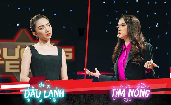 """Hương Giang và Tóc Tiên """"khẩu chiến"""" trên sóng truyền hình"""