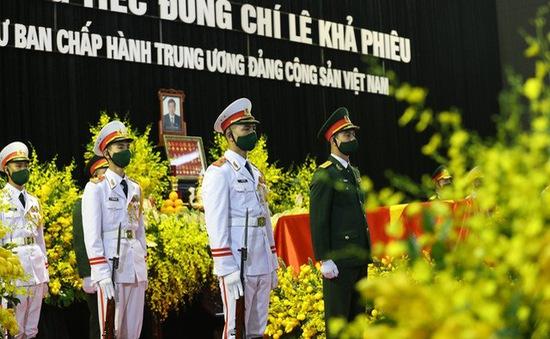 [VIDEO] Lễ viếng nguyên Tổng Bí thư Lê Khả Phiêu