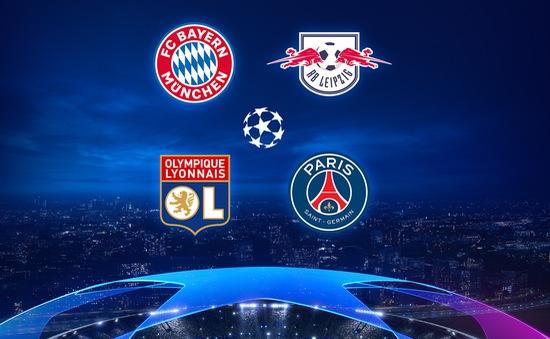 Xác định xong 4 đội vào bán kết Champions League: Lyon vs Bayern, Leipzig vs PSG
