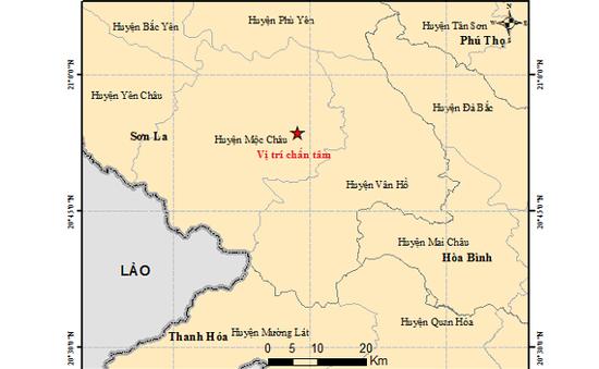 Động đất 4,3 độ tại Mộc Châu (Sơn La)