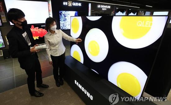 Bất chấp COVID-19, Samsung giữ vững ngôi đầu trên thị trường TV toàn cầu