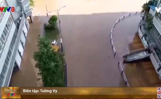 Tình hình mưa bão tại 1 số tỉnh, thành của Trung Quốc