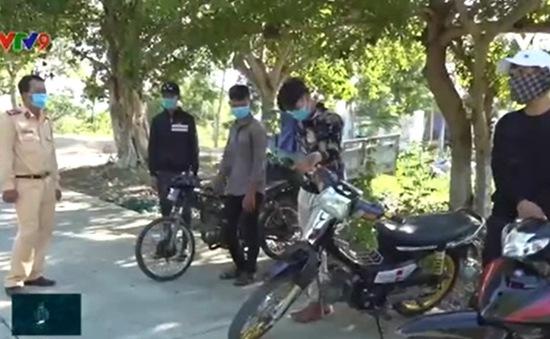 Ninh Thuận lập lại trật tự giao thông trên tuyến đường ven biển