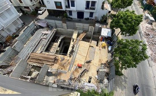 Quận Ba Đình (Hà Nội) phản hồi việc nhà dân xây 4 tầng hầm