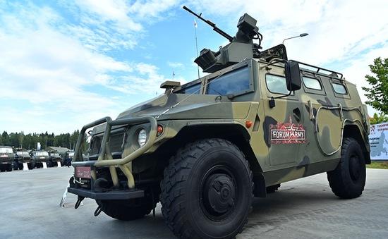 Ngắm dàn vũ khí tối tân bên lề Army Games 2020 ở Nga