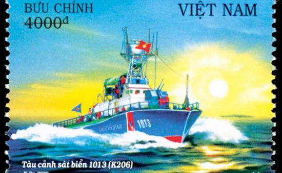 """Giới thiệu bộ tem """"Biển, đảo Việt Nam (bộ 2): Tàu Cảnh sát biển Việt Nam"""""""
