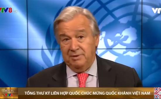 Tổng thư ký LHQ chúc mừng quốc khánh Việt Nam
