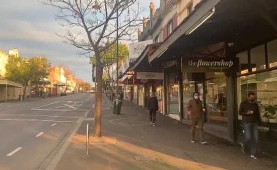 Australia áp đặt lệnh giới nghiêm tại thành phố Melbourne