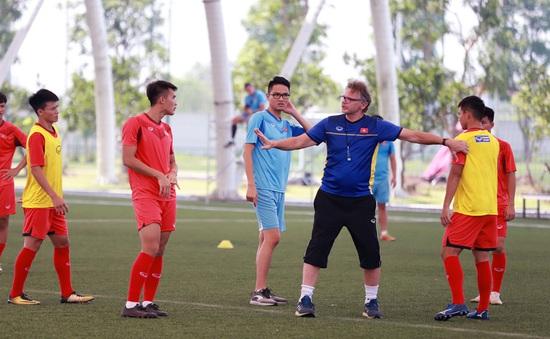 ĐT U19 Việt Nam kết thúc đợt luyện quân lần thứ 3, HLV Philippe Troussier ghi nhận sự nỗ lực của các cầu thủ