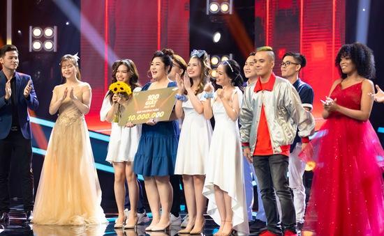 Nhóm nhạc trẻ Acapella giành giải nhất tuần của 100 Giây rực rỡ