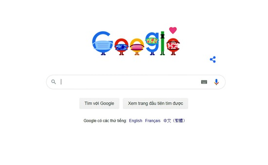 Google cổ vũ mọi người đeo khẩu trang phòng chống COVID-19
