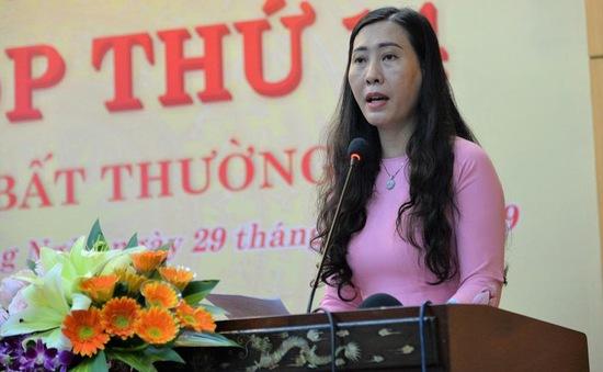 Chân dung tân nữ Bí thư Tỉnh ủy Quảng Ngãi