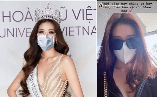 Các mỹ nhân Việt hưởng ứng chiến dịch đeo khẩu trang
