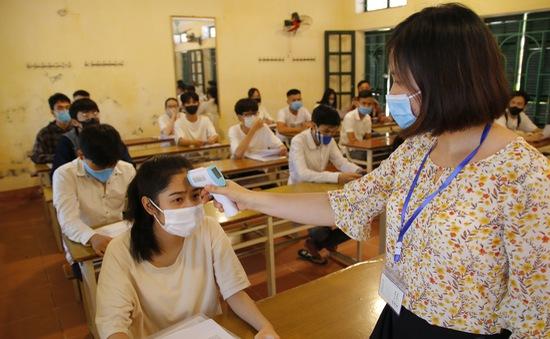 Cùng với cả nước, Thái Bình đảm bảo an toàn kép ở kỳ thi tốt nghiệp THPT 2020