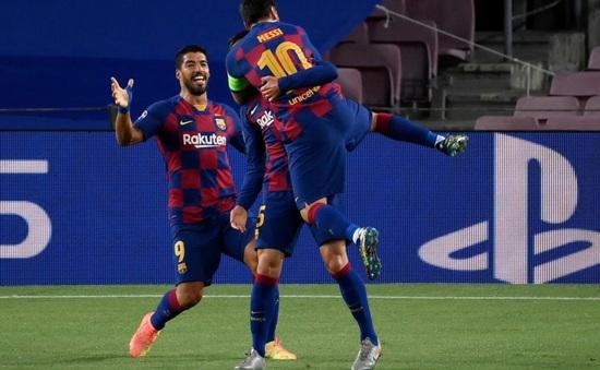 Kết quả Barca 3-1 (4-2) Napoli: Messi toả sáng, Barca gặp Bayern Munich ở tứ kết Champions League