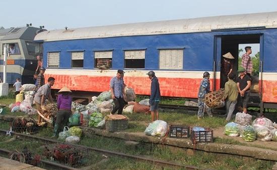 Đường sắt giảm cước vận tải cho hàng hóa nông sản