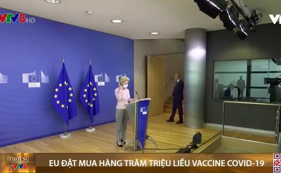 EU đặt mua hàng trăm triệu liều vaccine COVID-19